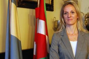 Arantxa Anitua és la presidenta de Laurak-Bat des de fa dos anys