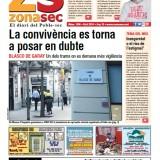 Fes clic per consultar el diari Zona Sec