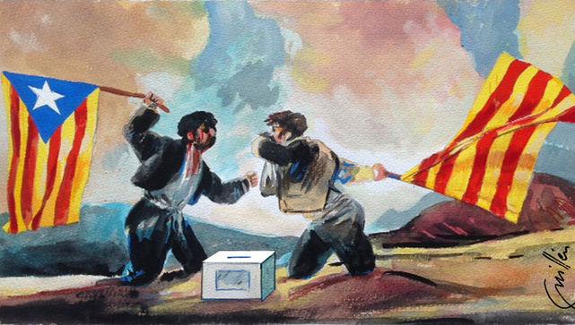 'Ai!', il·lustració de Joan J. Guillén
